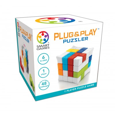 PLUG AND PLAY PUZZLER - SMART GAMES