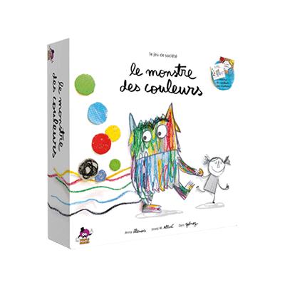 LE MONSTRE DES COULEURS - ASMODEE