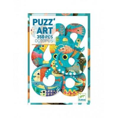 PUZZ'ART -OCTOPUS - 350 PCS - DJECO